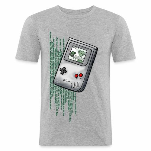 _life_Slim_Fit - Männer Slim Fit T-Shirt