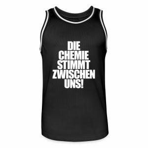 Die Chemie stimmt zwischen uns! - Basketballtrikot - Männer Basketball-Trikot