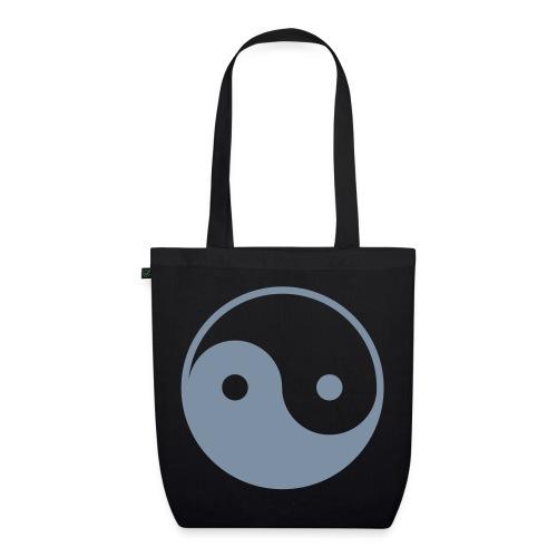 Bio stoffen tas - china,jin jang,jing jang,man,peace,woman,yin yang
