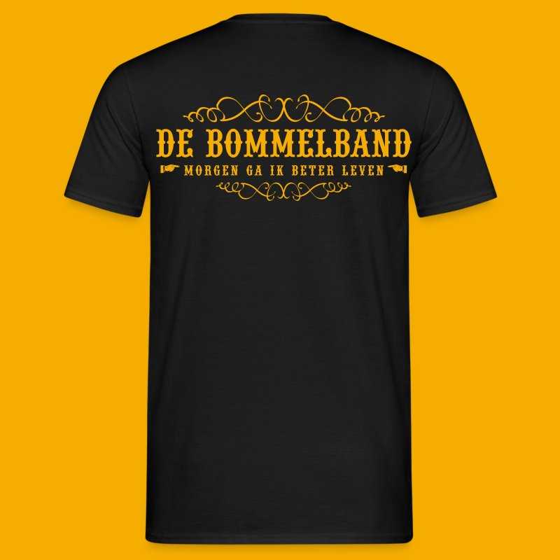 Heren T - Voor & Achter - Mannen T-shirt