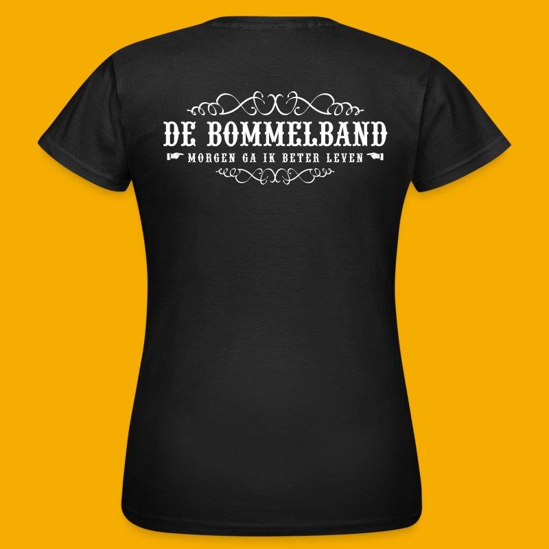 Dames T - Voor & Achter - Vrouwen T-shirt
