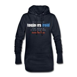 Sweat-shirt à capuche long Femme