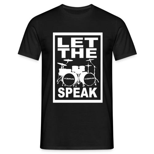 Let The Drums Speak 2 (Multicolor) - Men's T-Shirt
