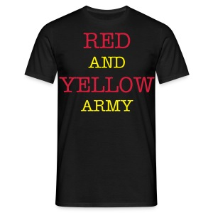 Red and Yellow Army - Men's T-Shirt