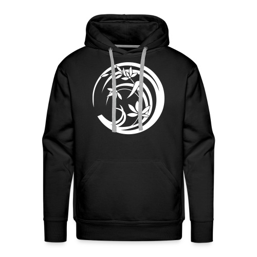 Sweat logo moon flower - Mannen Premium hoodie