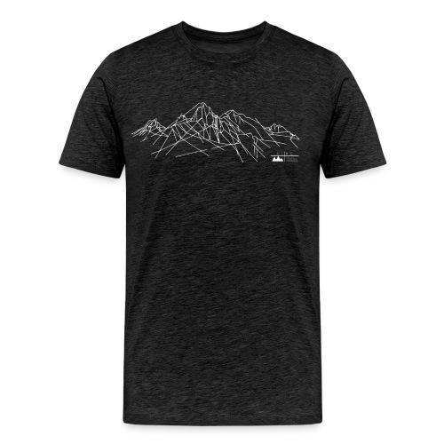 Shirt Gebirge Herren (Logo hell) - Männer Premium T-Shirt
