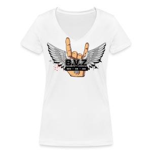 BoysVanZuid Vrouwen T-shirt - Vrouwen bio T-shirt met V-hals van Stanley & Stella