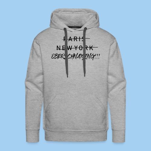 Oberschnaxling - Hoodie (sw) - Männer Premium Hoodie