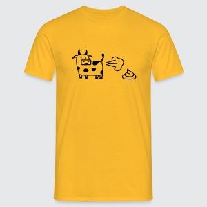 kuh-air-code - Männer T-Shirt