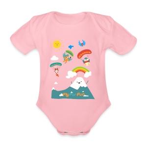 Baby's Comic T-Shirt - Baby Bio-Kurzarm-Body