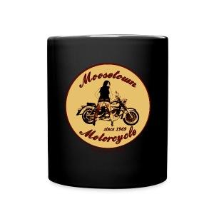 Moosetown Motorcycle | Biker Tasse - Tasse einfarbig