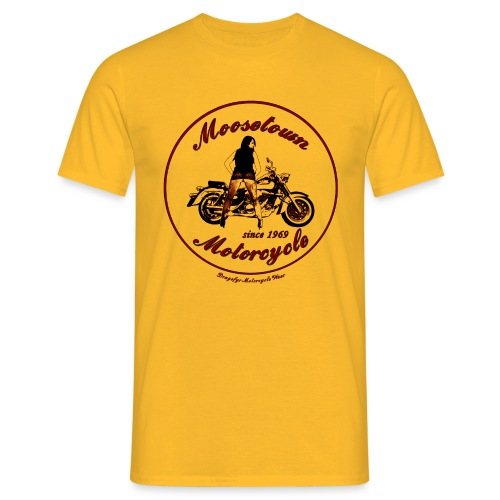 Moosetown Motorcycle hell | Biker Shirt - Männer T-Shirt