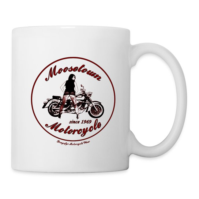 Moosetown Motorcycle hell | Biker Tasse