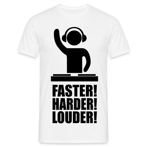 FAST HARD LOUD - Men's T-Shirt