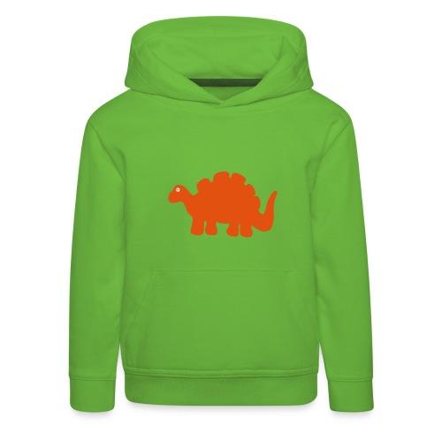 Dino-Kapuzenpulli - Kinder Premium Hoodie
