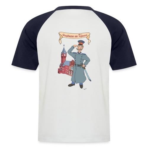 T-Shirt zweifarbig - Hauptmann on Tour - Männer Baseball-T-Shirt