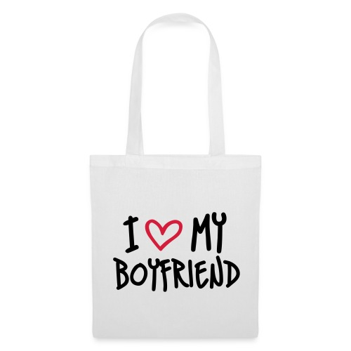 I Love my Boyfriend tote Bag - Tote Bag