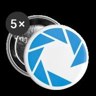 Buttons & Anstecker ~ Buttons mittel 32 mm ~ Langeronline - Sticker mittel 32mm