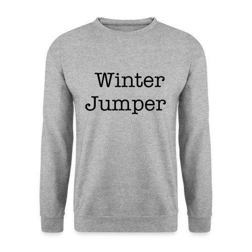 winter jumper  - Men's Sweatshirt
