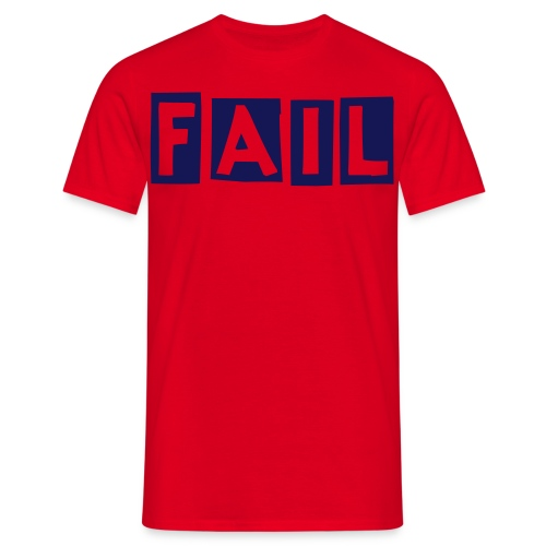 ownads, fail shirt - Men's T-Shirt