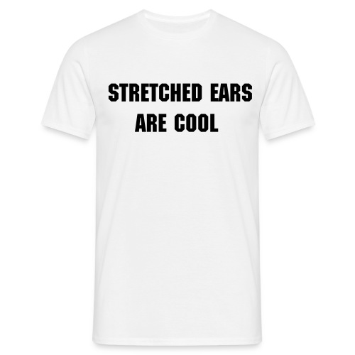 stretched ears shirt  - Men's T-Shirt