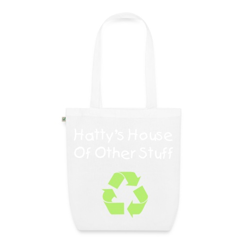 'Hatty's House of Other Stuff'  Eco-Friendly Tote Bag - EarthPositive Tote Bag
