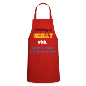 'Cooking is GREAT with...' Adult's Cooking Apron - Cooking Apron