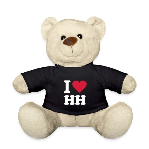 'I Love HH' Teddy Bear - Teddy Bear