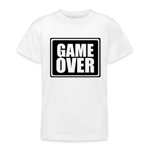 Game over-kids - T-skjorte for tenåringer