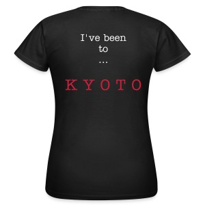 I've been to Kyoto, black, woman - Women's T-Shirt