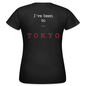 I've been to Tokyo, black, woman - Women's T-Shirt