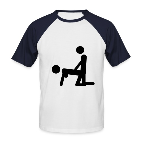 T-shirt Homme Sexe - T-shirt baseball manches courtes Homme