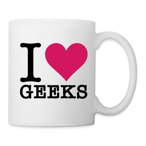 Tasse Geeks - Mug blanc