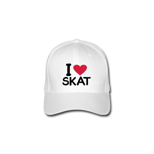 I love skat cap - Flexfit Baseballkappe