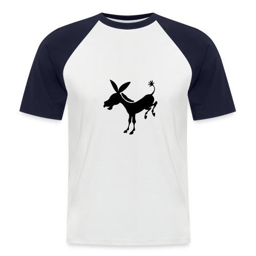 Donkey - Männer Baseball-T-Shirt