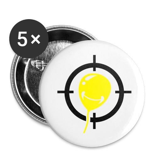 City-Gangster.de Pin - Buttons klein 25 mm