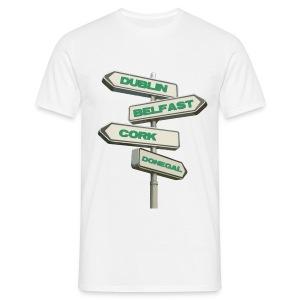 Dublin Belfast Cork & Donegal - Men's T-Shirt