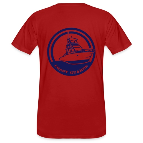 Men's Earth Positive Organic T-shirt Coast Guards - Men's Organic T-Shirt