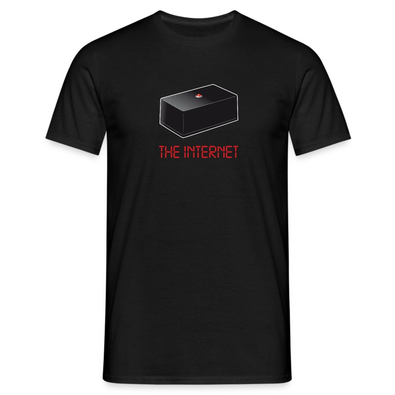 The Internet. - Männer T-Shirt