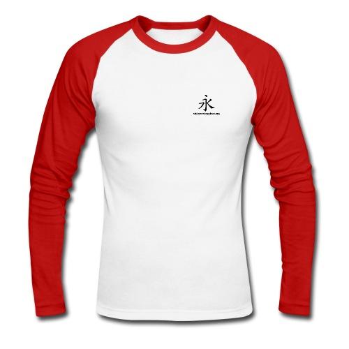 Everlasting und siulam-wingchun.org VORN berlin siu lam wing chun pai LINKS - Männer Baseballshirt langarm