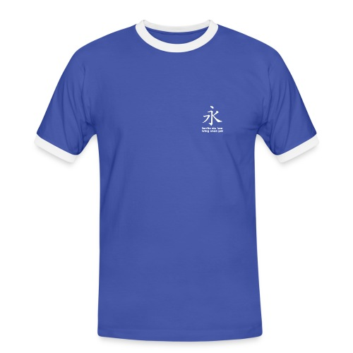 berlin siu lam wing chun pai VORN - Männer Kontrast-T-Shirt