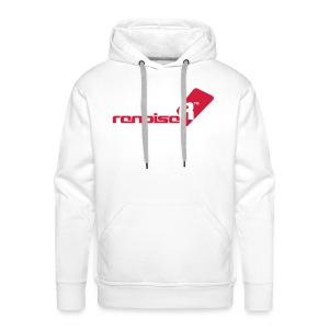 Men's Hoodie - Red Renoise Logo - Men's Premium Hoodie