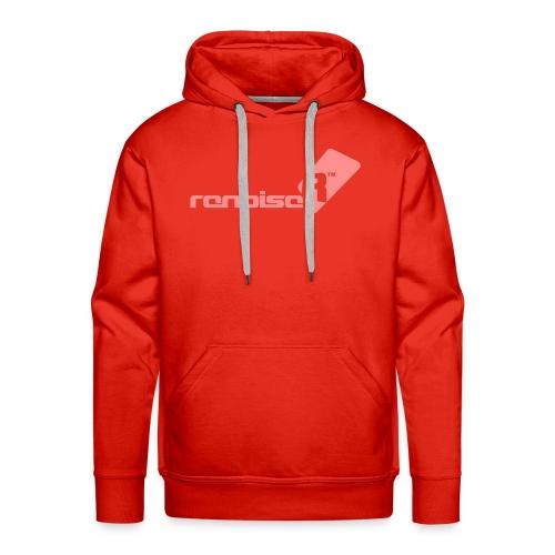 Men's Hoodie - Pink Renoise Logo - Men's Premium Hoodie