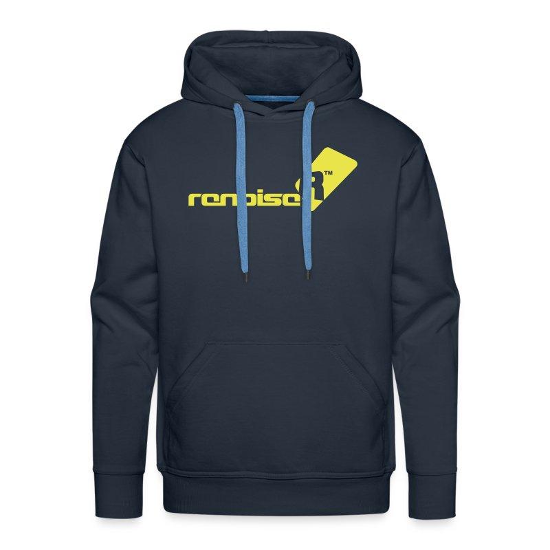 Men's Hoodie - Yellow Renoise Logo - Men's Premium Hoodie