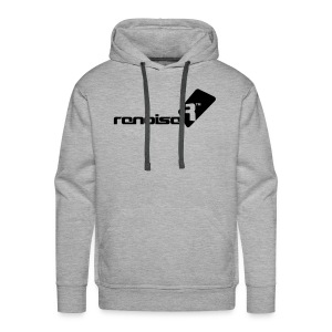 Men's Hoodie - Black Renoise Logo - Men's Premium Hoodie