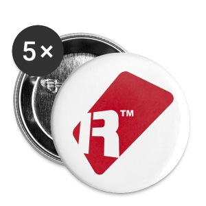 Small Buttons - Red Renoise Tag - Buttons small 25 mm