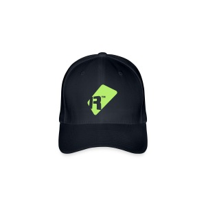 Flexfit Baseball Cap - Light Green Renoise Tag - Flexfit Baseball Cap