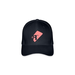 Flexfit Baseball Cap - Pink Renoise Tag - Flexfit Baseball Cap