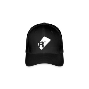 Flexfit Baseball Cap - White Renoise Tag - Flexfit Baseball Cap