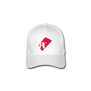 Flexfit Baseball Cap - Red Renoise Tag - Flexfit Baseball Cap
